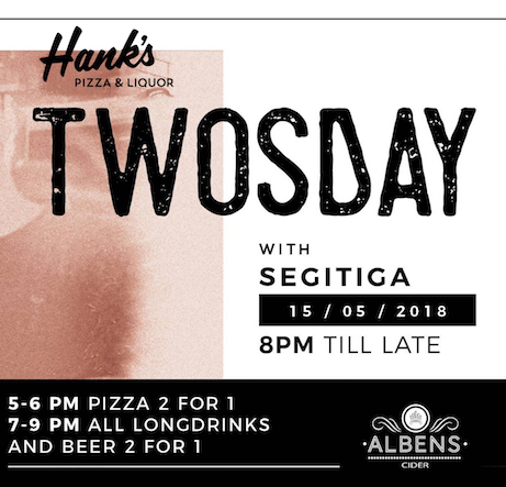 hanks pizza, twosdays, cider, Bali, Indonesia, tropical, party