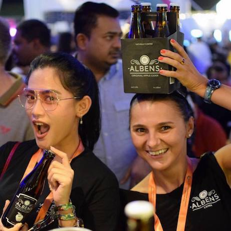 bronze, cider, Singapore, Beer Fest Asia 2018, Apple & Mango, tropical