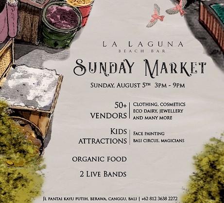 Sunday, market, Bali, Indonesia, Canggu, Seminyak, albens cider, weekend