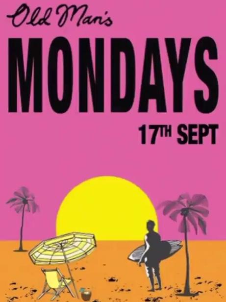 Oldmans, Mondays, Canggu, albens cider, Bali