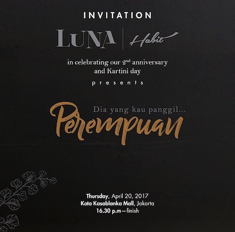 Jakarta, Luna Habit, party, Indonesia, albens cider, anniversary