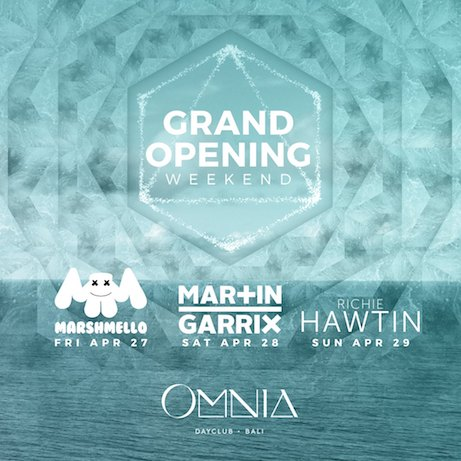Omina, Bali, Opening, dance, poolside, day party, albens cider, cider, Uluwatu