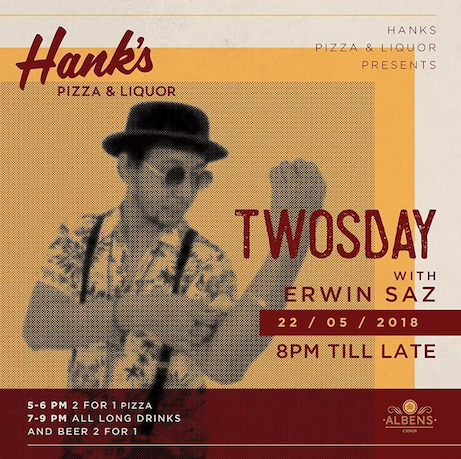 Hanks Pizza, Seminyak, Bali, Indonesia