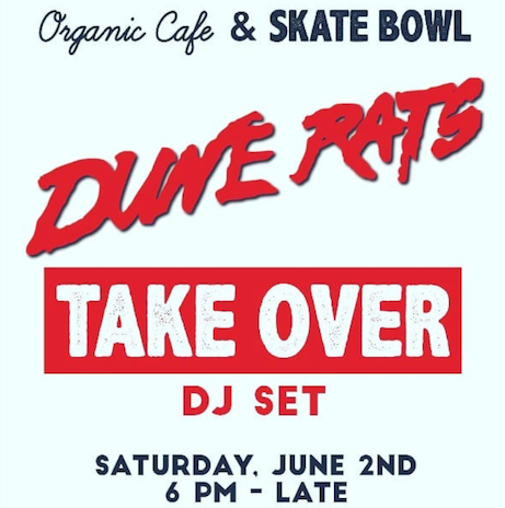 outside corner, Indonesia, Bali, Dune Rats, skate, organic, cafe, DJ Set, Albens Cider