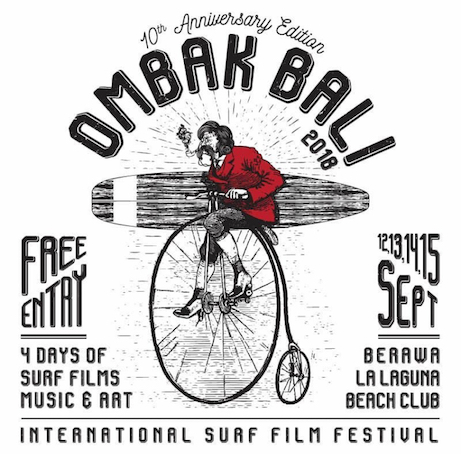 film festival, Bali, Indonesia, tropical, surfing, cider, albens cider, open air cinema